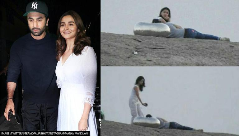 Ranbir Kapoor, Alia Bhatt's Pics From Exotic Retreat Goes Viral, Duo Enjoy Sunset Together