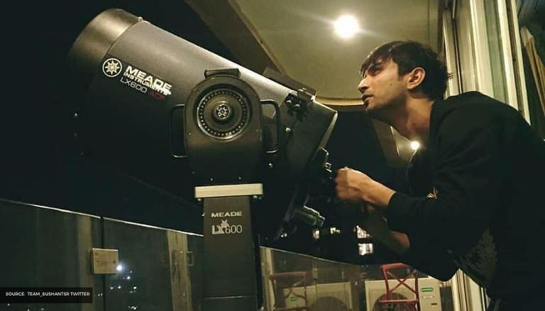 When Sushant Singh Rajput passionately explained Stars and Galaxies to a  friend; WATCH
