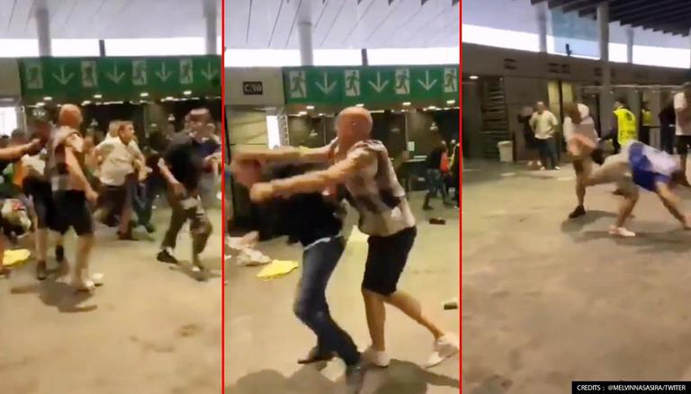 English fans attack Italians after EURO 2020 loss; hurl racist abuses, vandalise flag
