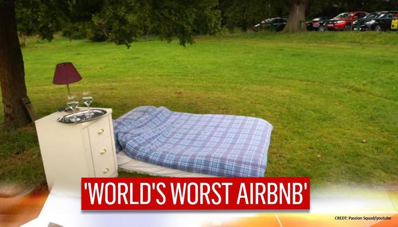 world's worst Airbnb