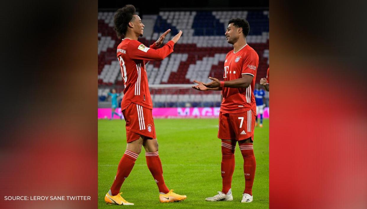 Sane-Gnabry compared to Robben-Ribery as Bayern hammer 8 past Schalke in season opener​​​​ - Republic World