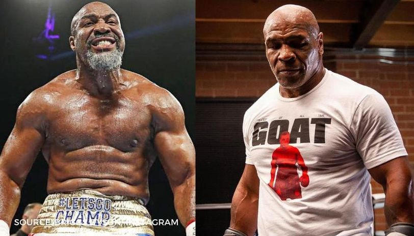 shannon briggs ready to replace roy jones jr and fight mike tyson tag me in champ shannon briggs ready to replace roy