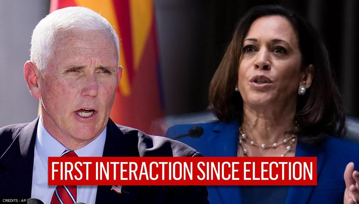 Pence calls Vice President-elect Kamala Harris to congratulate her, offer assistance