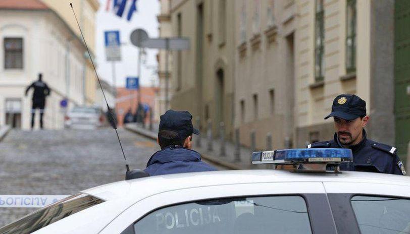 Croatian police release video of gunman's attack on govt building