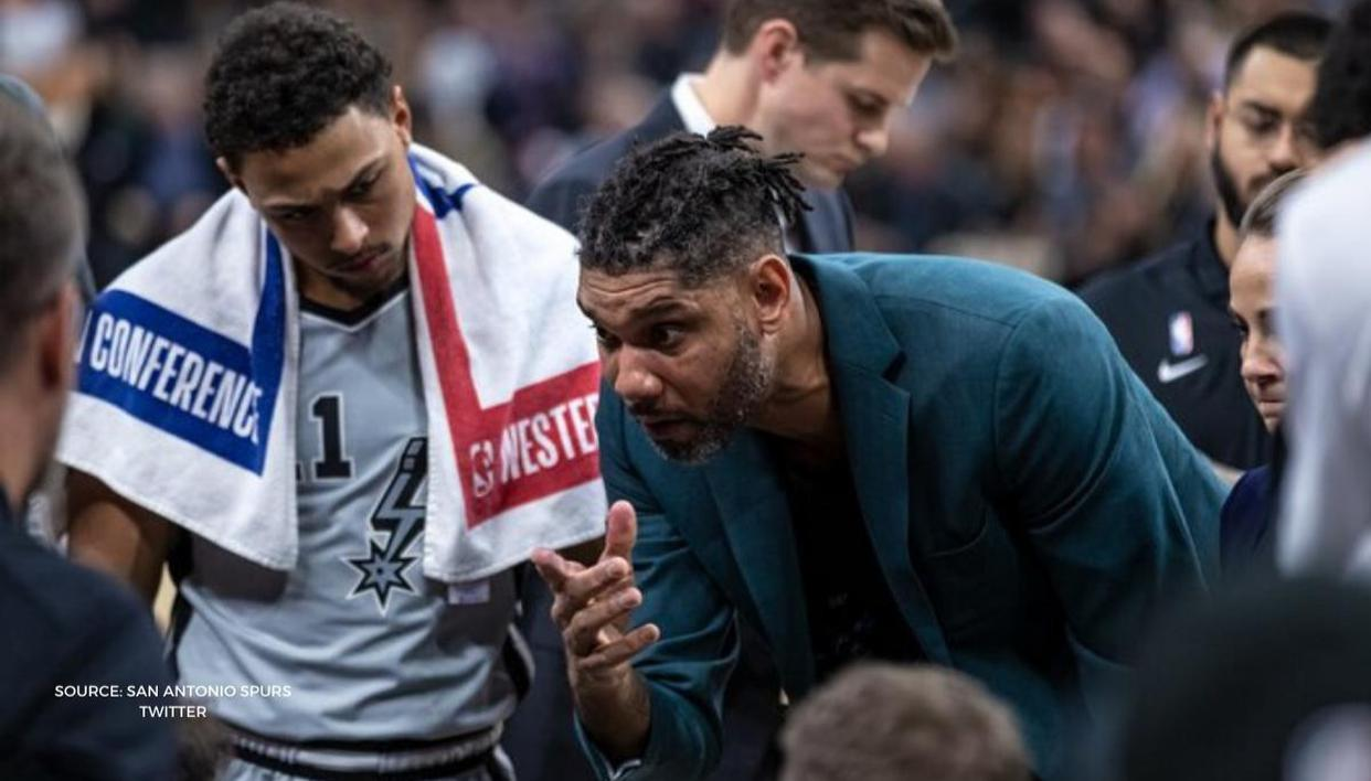 Tim Duncan Gets First Win As San Antonio Spurs' Coach