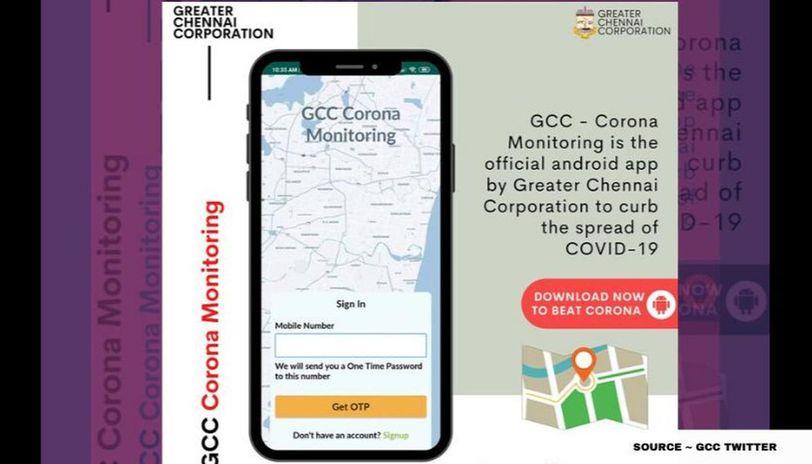 what is gcc corona monitoring app