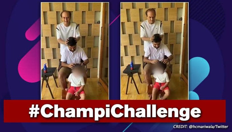 Harsh Mariwala throws Champi Challenge, calls it best way for family bonding