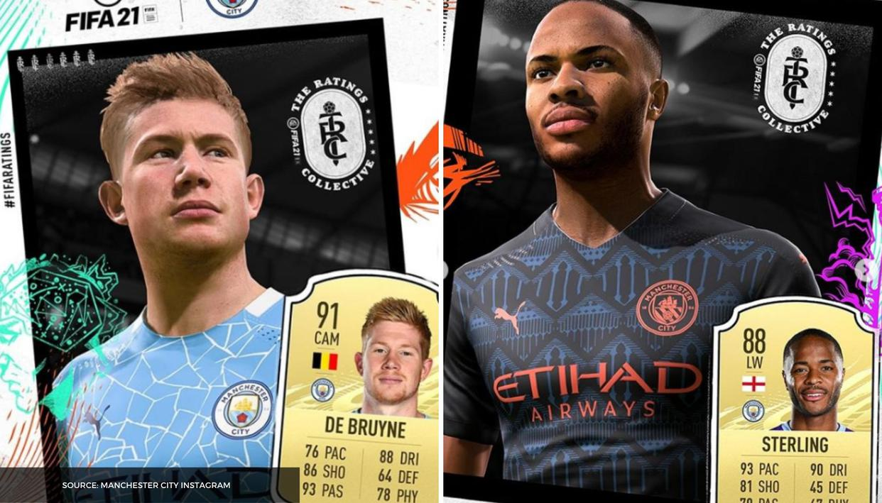 Manchester City FIFA 21 ratings: Here are the new player ...