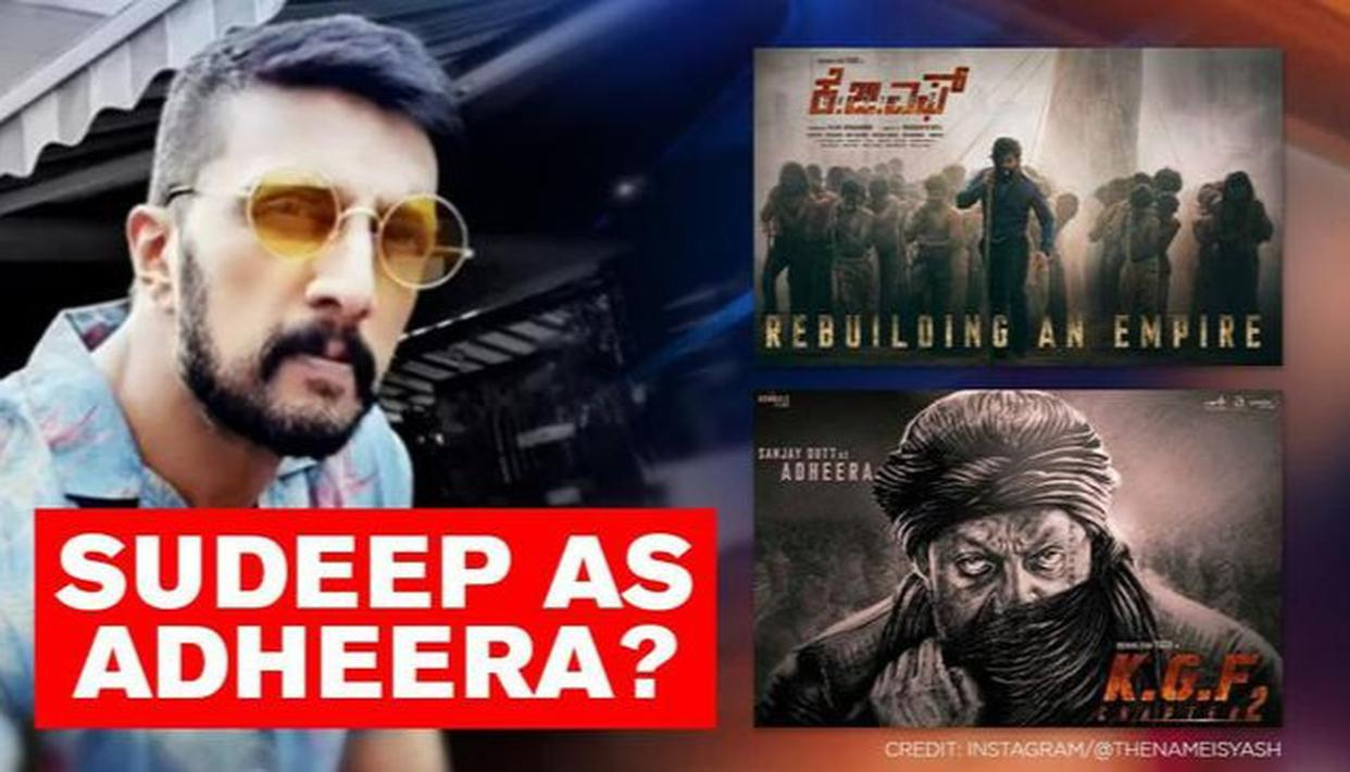 'KGF' 2: Was Sudeep initially set to do Sanjay Dutt's role? 'Dabangg 3' actor answers - Republic World