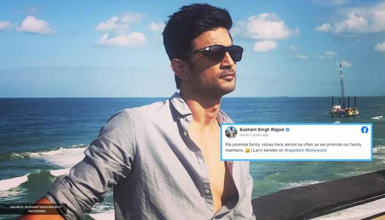Five years ago, Sushant Singh Rajput had made THIS post on nepotism in Bollywood - Republic World