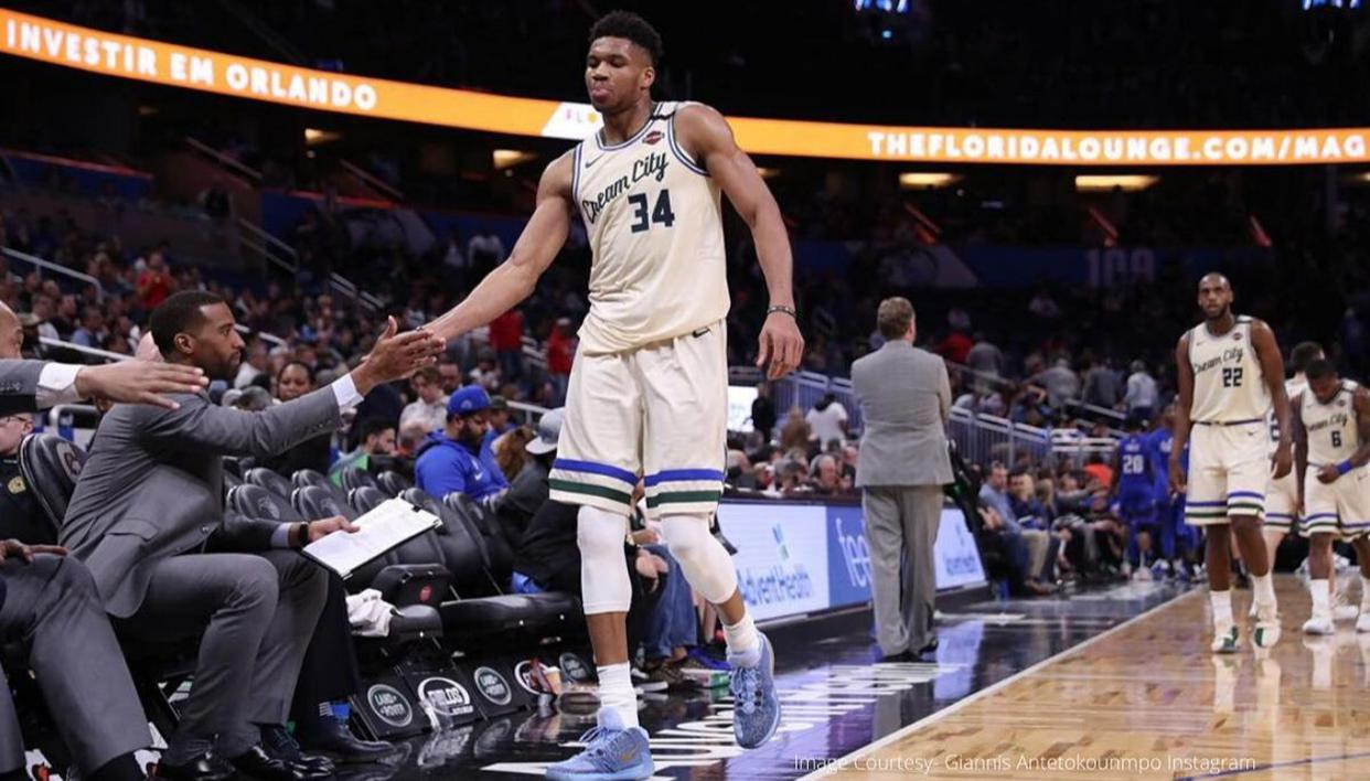 Antetokounmpo Pledges USD 100,000 for Idled Arena Workers