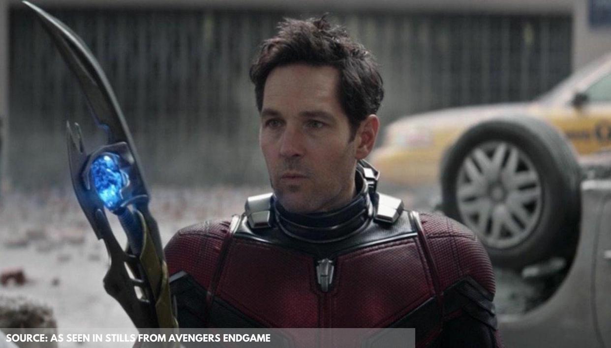 'Avengers: Endgame' screenwriter explains Ant-Man's reaction to 'Back to the Future' scene - Republic World