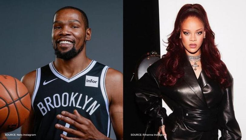 Rihanna and Kevin Durant