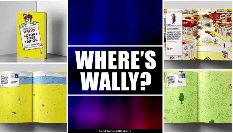 British puzzle releases a 'Where's Wally?' coronavirus edition