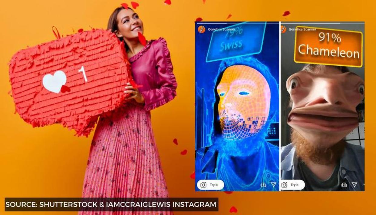 Find Genetic Heritage Instagram Filter