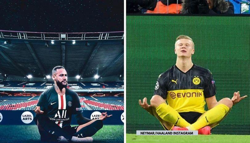 Erling Haaland Opens Up On Neymar S Infamous Mocking Of Zen Celebration