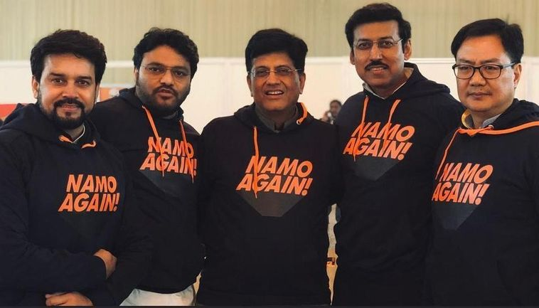VIRAL: BJP Ministers make a strong fashion statement with 'NaMo Again' Hoodies