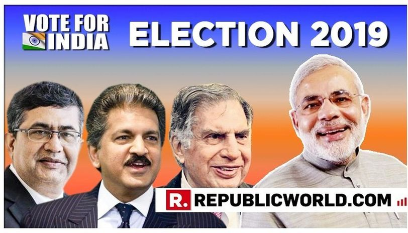 Pm Modi Writes To Ratan Tata Anand Mahindra And Ashish Chauhan Seeks Their Help In Making India Win In The 2019 Elections Read Here Republic World
