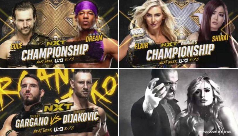 WWE NXT matches