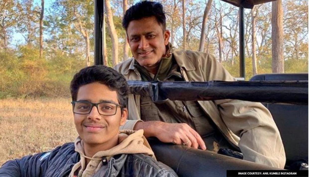 Anil Kumble proud to see son Mayas get special media mention for wildlife photography - Republic World