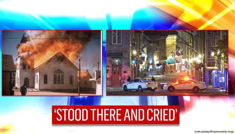 Canada 2 Churches Go Up In Flames In Ontario Under Very Suspicious Circumstances
