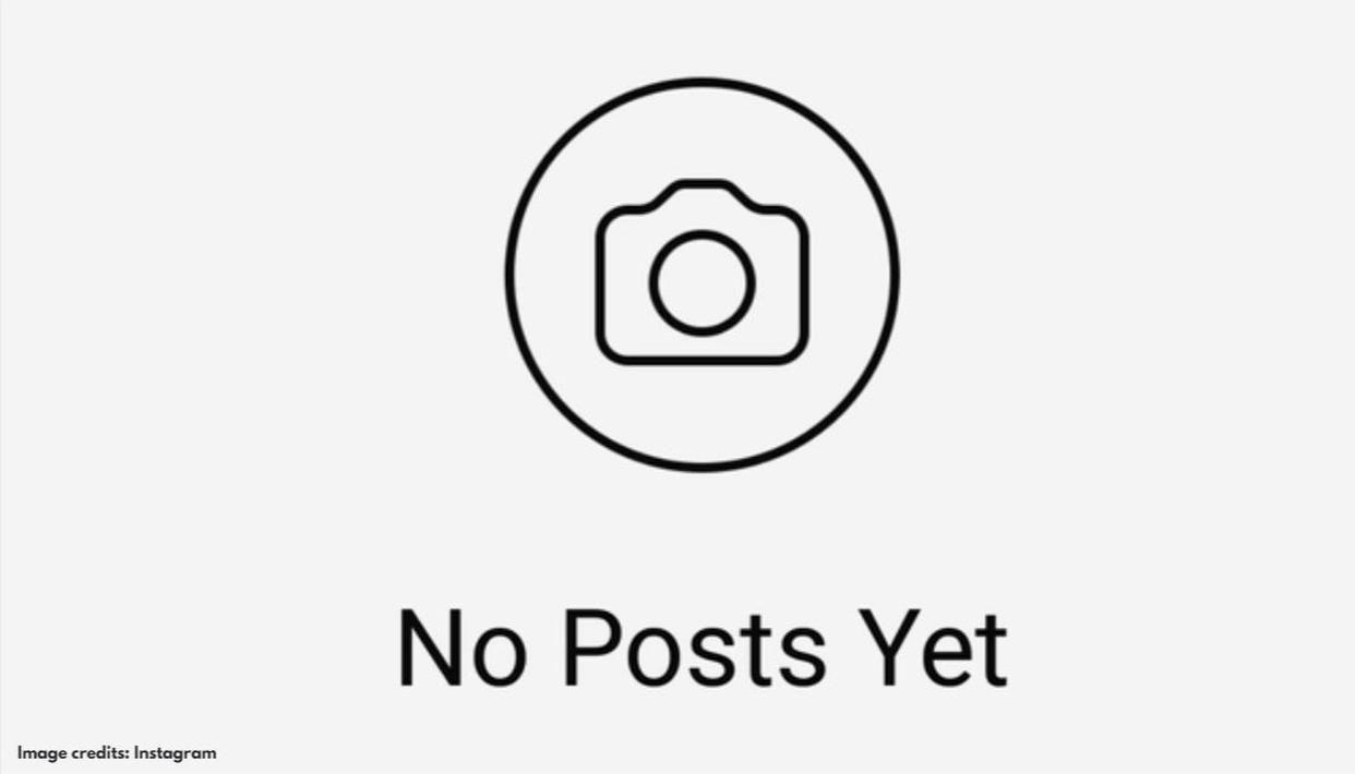 Resultado de imagen para instagram account 0 post