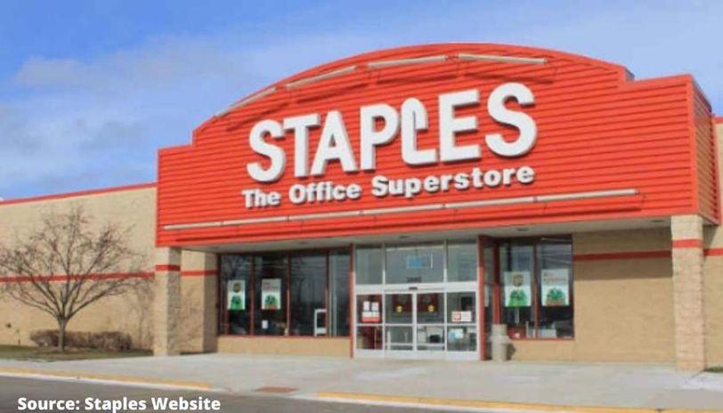 staples hours
