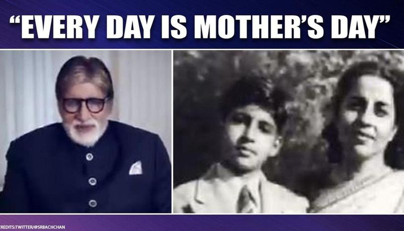 As Mother's Day was celebrated, Amitabh Bachchan posted a video for the 'most beautiful mother in the world,' Teji Bachchan. He also backed Aarogya Setu app.