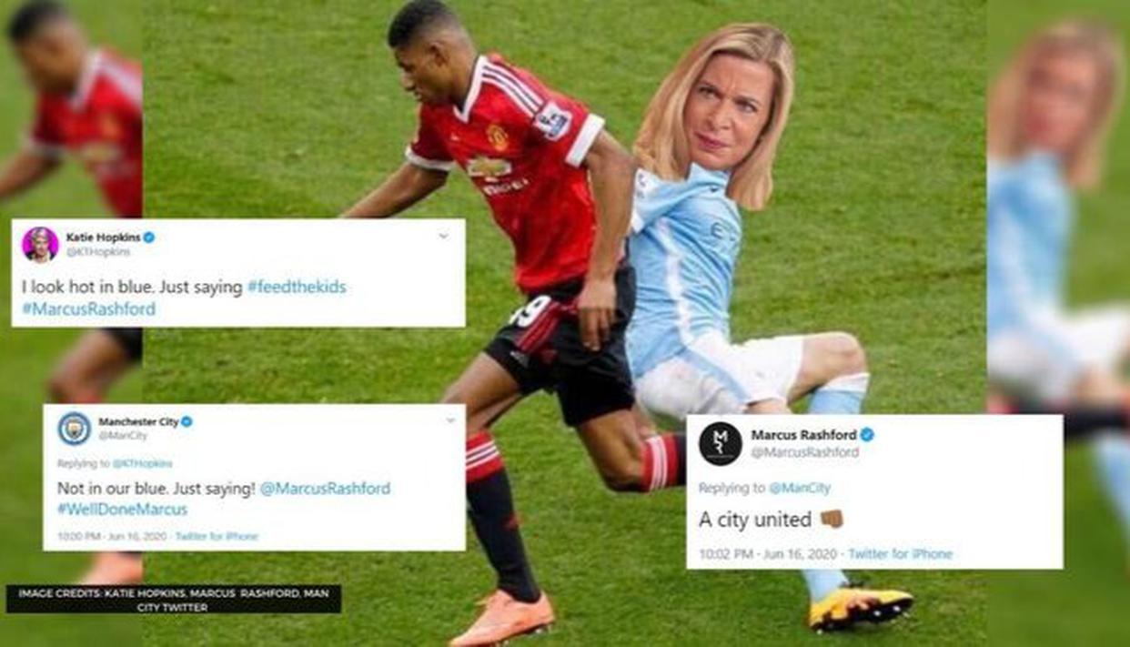Marcus Rashford Katie Hopkins Twitter