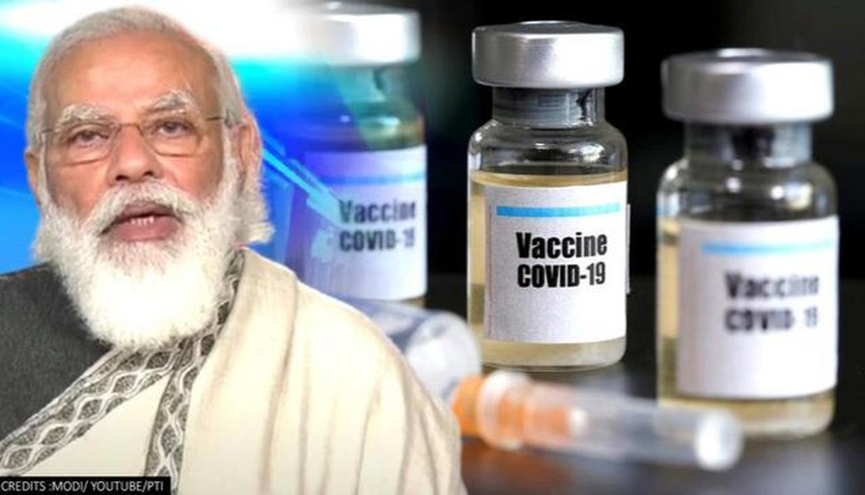 PM Modi monitors progress of 'COVAXIN' in Hyderabad's Bharat Biotech; hails  efforts