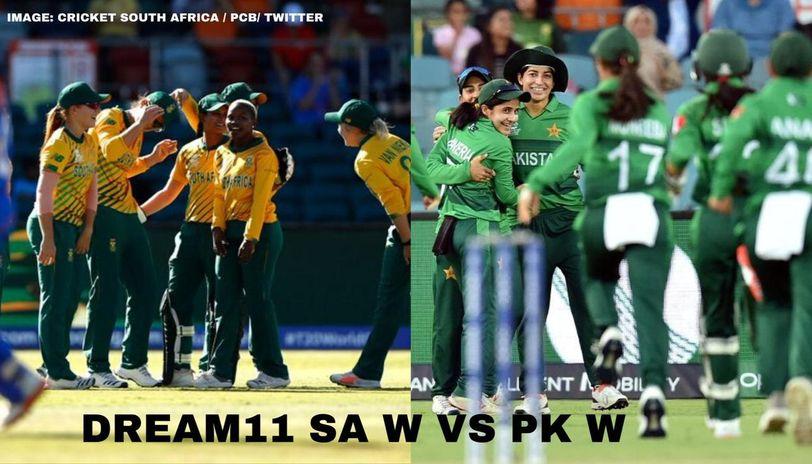 SA W vs PK W Dream11