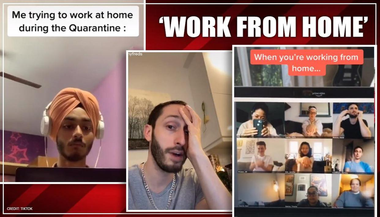 People Share Hilarious Work From Home Videos On Social Media Watch