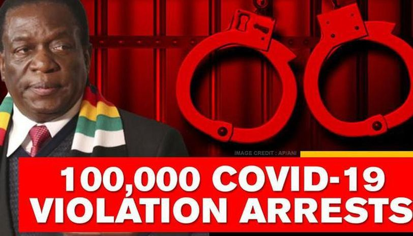 Zimbabwe: People arrested for breaching lockdown restrictions