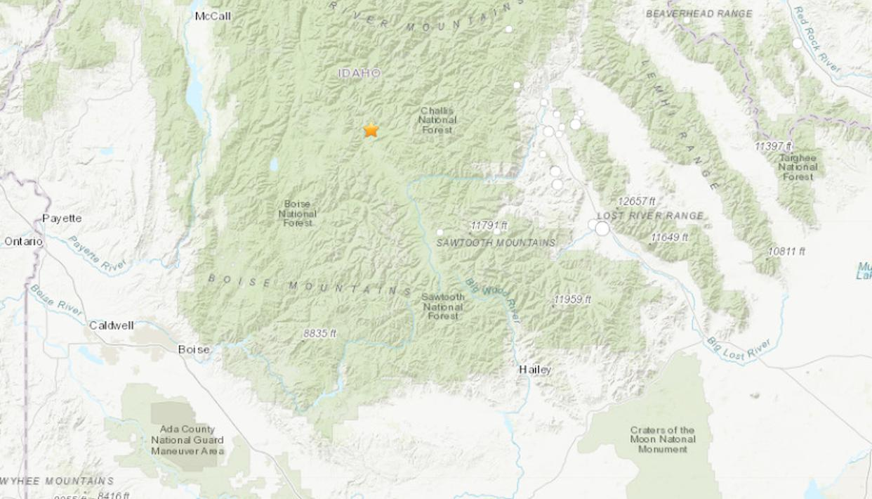 Earthquake Felt In Southern Idaho And Surrounding States