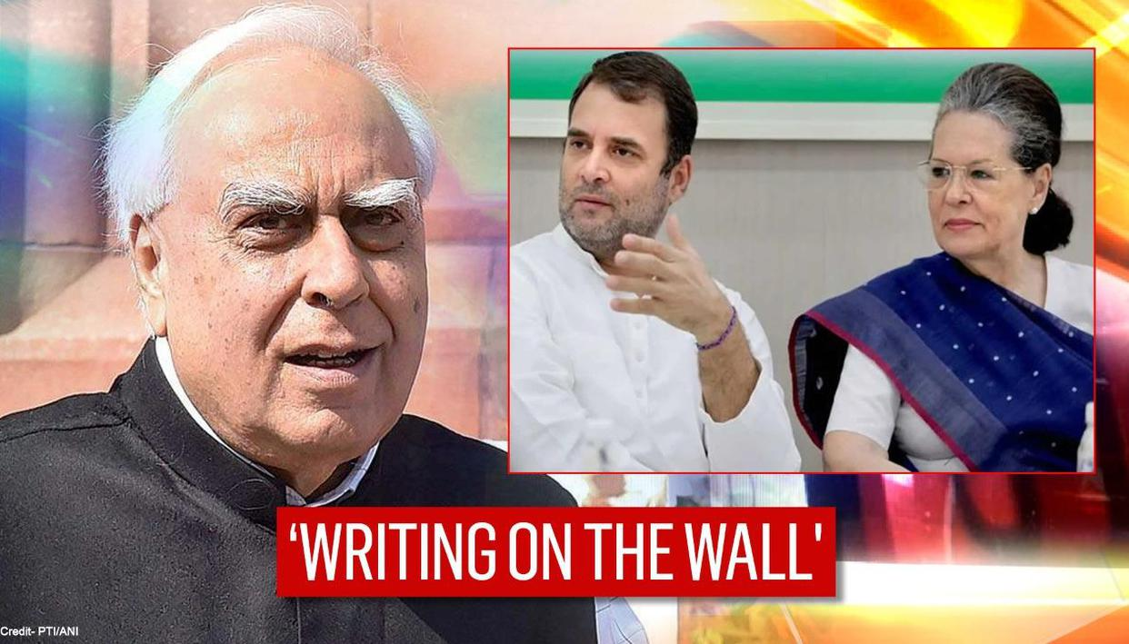 '6 years no introspection, what hope now?': Kapil Sibal unsparing about Congress' plight