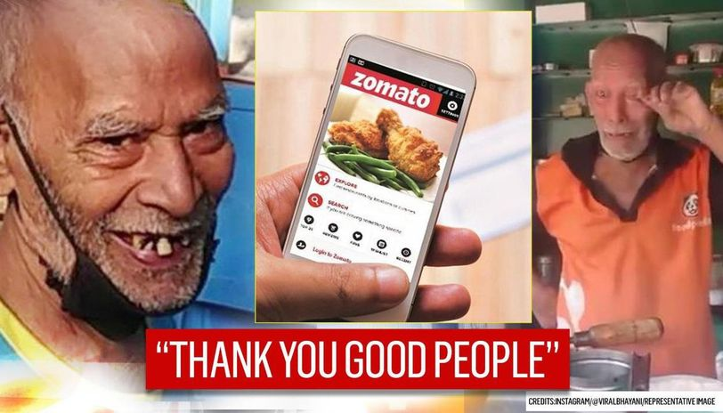 Baba Ka Dhaba now listed on Zomato as customers throng venue, Tinder has special message