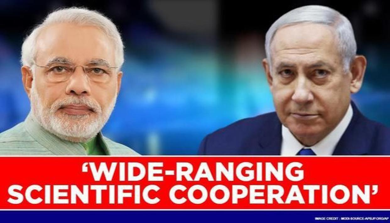India, Israel aim to strengthen scientific cooperation; discuss development on big data - Republic World