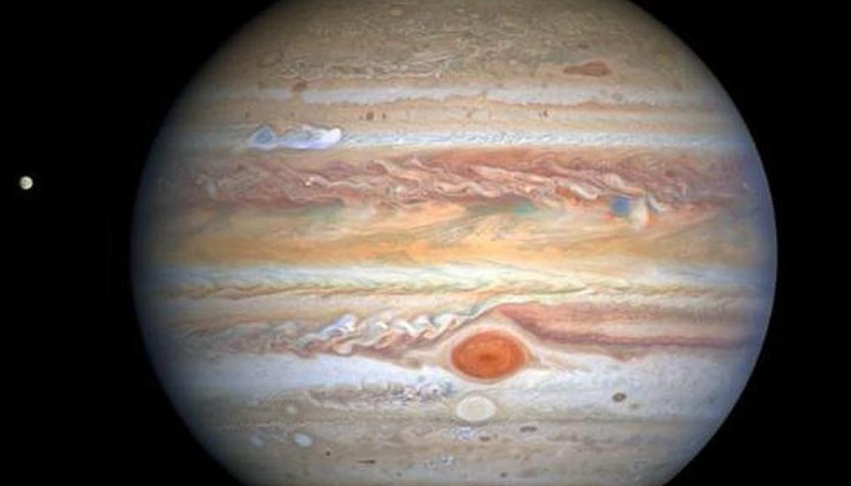 NASA shares an intriguing image of Jupiters violent stormy atmosphere; see here - Republic World - Republic World