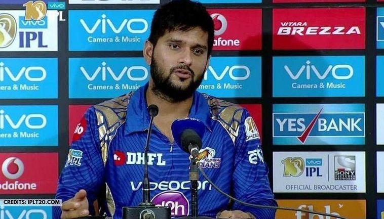 Mumbai Indians' Saurabh Tiwary IPLT20.com