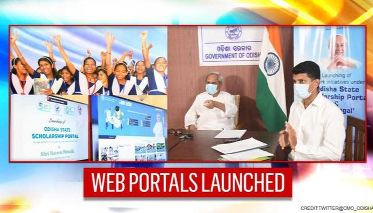 Odisha CM launches 'Sumangal' & student scholarship web portals to aid beneficiaries