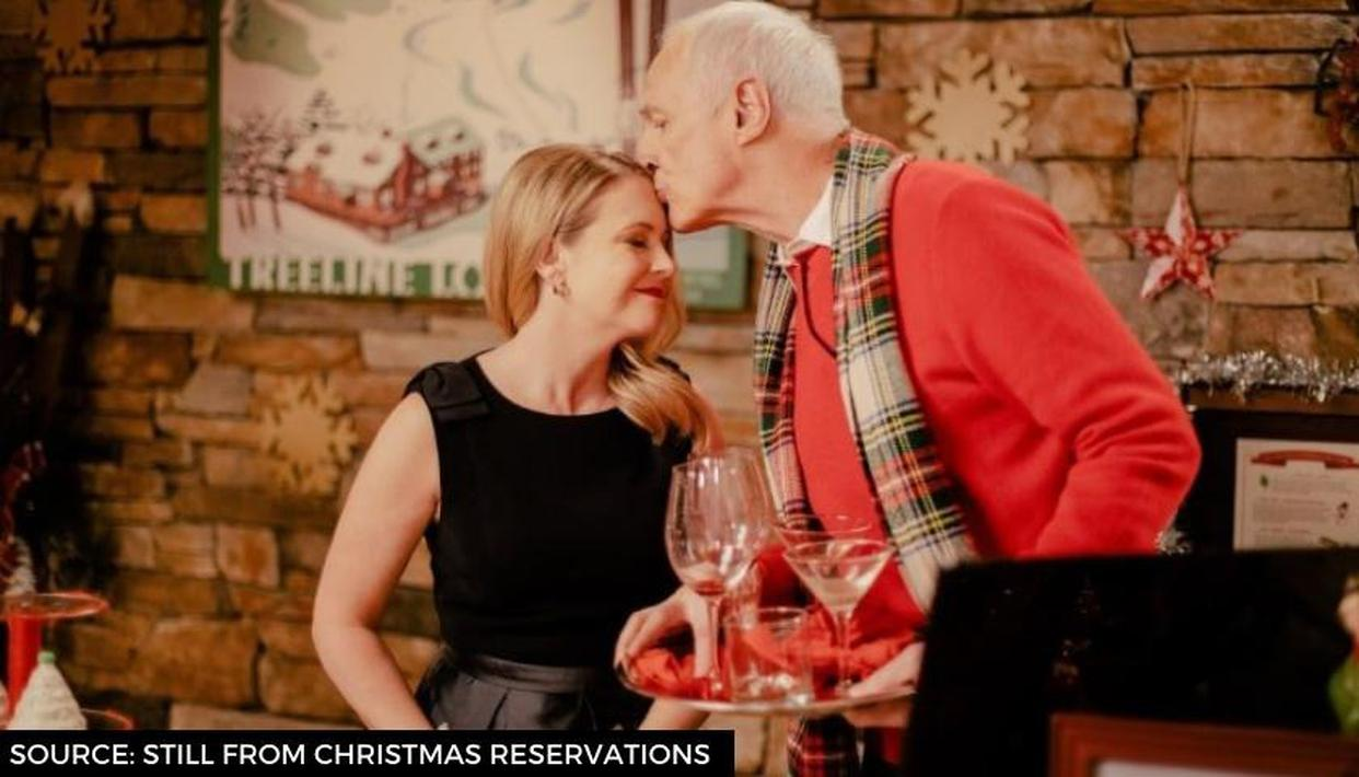 'Christmas Reservations' cast: Melissa Joan Hart, Markie Post & other actors of love story