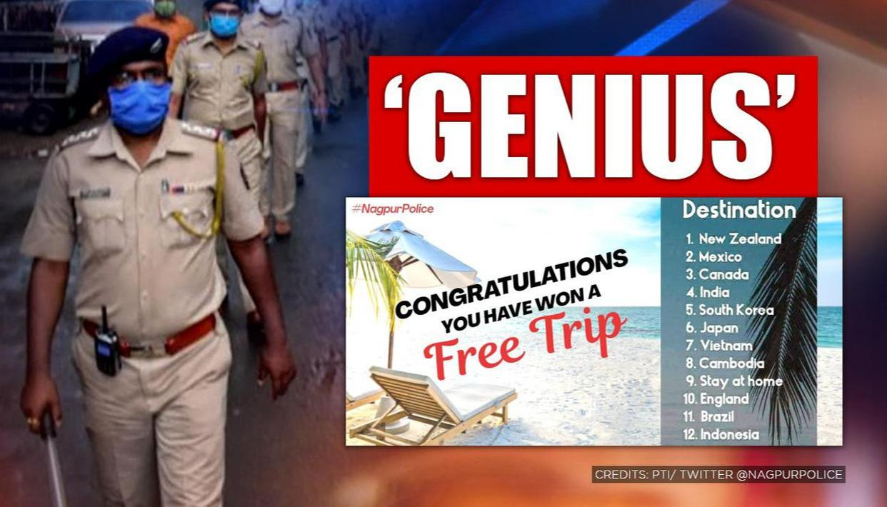 Nagpur Police launch witty 'travel contest' to help you plan next trip, here's the catch - Republic World