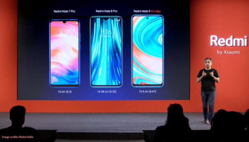 Redmi Note 9 series launch event
