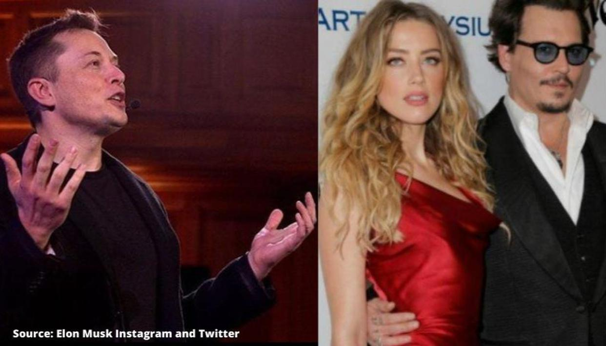 Elon Musk Responds To Johnny Depp Fan Page Over Cheating Allegation With Amber Heard