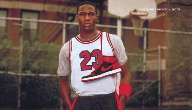 sostén maravilloso Queja  Michael Jordan reveals he preferred Adidas over Nike and Converse out of  college
