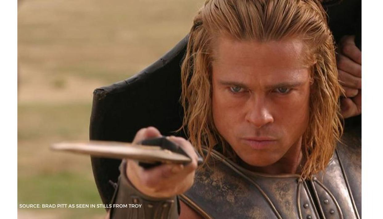 Brad Pitt Underwent A Six Month Physical Training For Troy Read More Facts Republic World