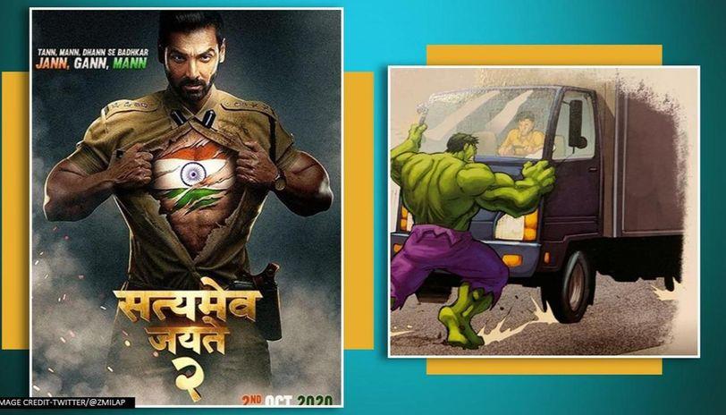 'Satyameva Jayate 2': Milap Zaveri 'teases' John Abraham's Hulk-like stunt, netizens react