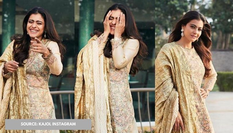 Kajol laughing while attempting to get a score 1/3 is all of us ...