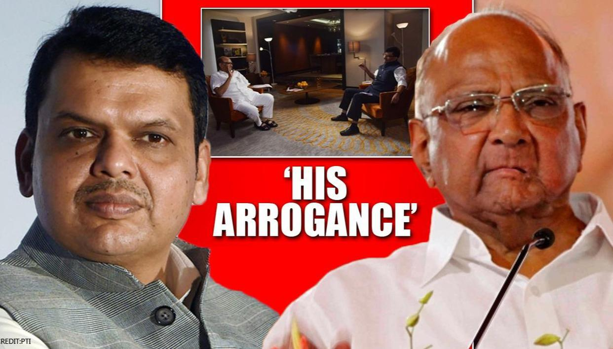 Sharad Pawar slams Fadnavis' 'arrogance' in Sanjay Raut's dramatic Saamana interview - Republic World