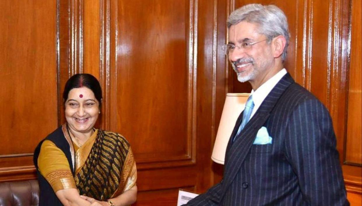 EAM S Jaishankar fondly remembers predecessor Sushma Swaraj on her first death anniversary - Republic World